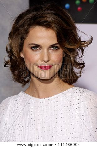 Keri Russell at the Los Angeles premiere of 'Bedtime Stories' held at the El Capitan Theater in Hollywood on December 18, 2008.