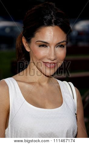 Vanessa Marcil attends the LG Electronics' (LG) Launch of the