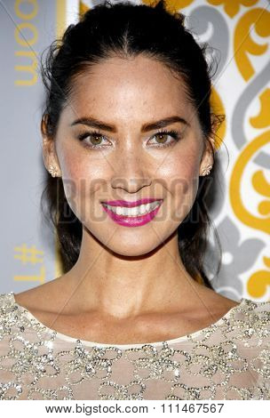 Olivia Munn at the Los Angeles premiere of HBO's 'The Newsroom' Season 3 held at the DGA Theatre in Los Angeles on November 4, 2014 in Los Angeles, California.