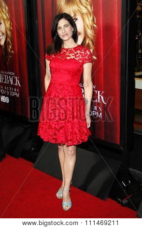 Laura Silverman at the Los Angeles premiere of HBO's 'The Comeback' held at the El Capitan Theatre in Los Angeles on November 5, 2014.
