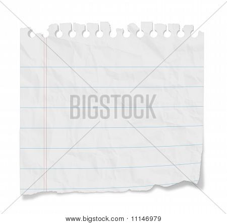 Blank Note - Lined Paper