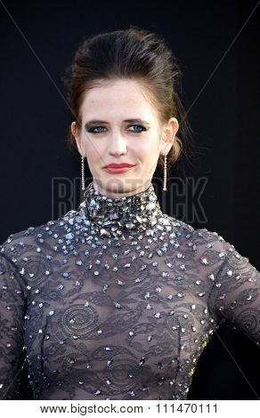 Eva Green at the Los Angeles premiere of 'Dark Shadows' held at the Grauman's Chinese Theatre in Hollywood on May 7, 2012.