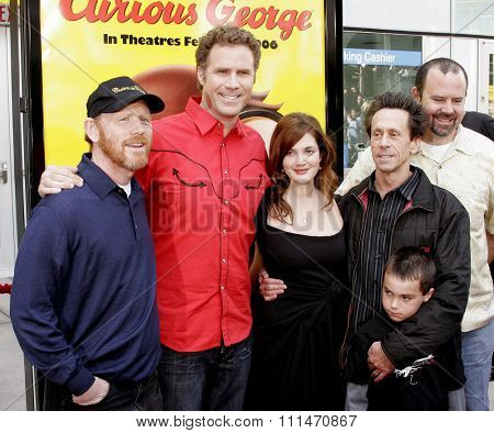 Ron Howard, Will Ferrell, Drew Barrymore and Brian Grazer attend the World Premiere of