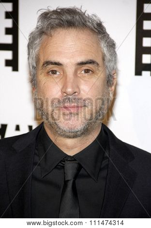 Alfonso Cuaron at the 64th Annual ACE Eddie Awards held at the Beverly Hilton Hotel in Los Angeles, United States, 070214.