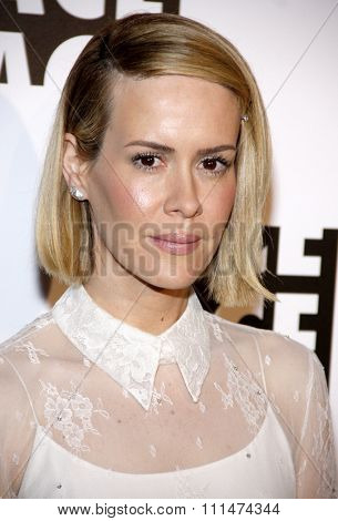 Sarah Paulson at the 64th Annual ACE Eddie Awards held at the Beverly Hilton Hotel in Los Angeles, United States, 070214.