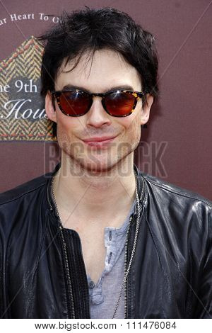 Ian Somerhalder at the 9th Annual John Varvatos Stuart House Benefit held at the Varvatos Store in West Hollywood on March 11, 2012.