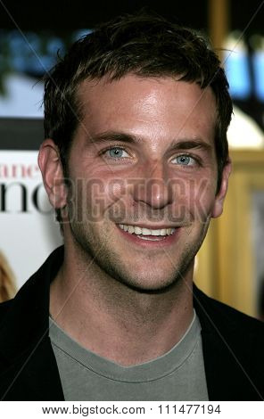 April 29, 2005. Bradley Cooper attends at the Los Angeles Premiere of