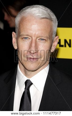 Anderson Cooper at the 39th Annual Daytime Emmy Awards held at the Beverly Hilton Hotel in Beverly Hills on June 23, 2012.