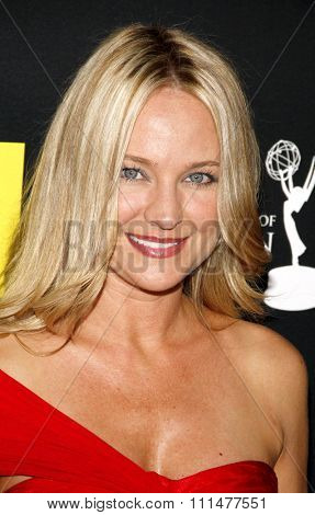 Sharon Case at the 39th Annual Daytime Emmy Awards held at the Beverly Hilton Hotel in Beverly Hills on June 23, 2012.