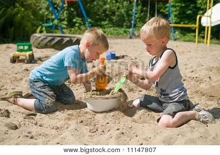 Play In The Sandbox