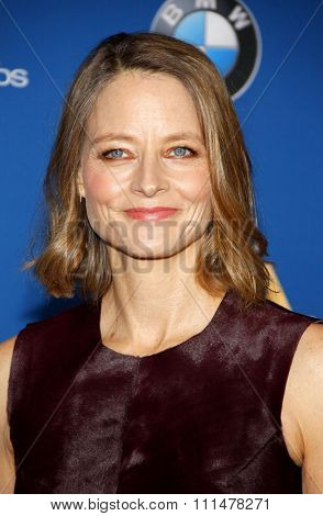 Jodie Foster at the 67th Annual Directors Guild Of America Awards held at the Hyatt Regency Century Plaza in Century City on February 7, 2015.