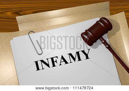 Infamy Concept