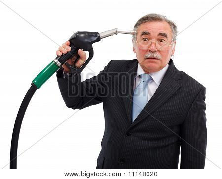 Head Shoot With Gas Nozzle