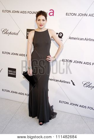 Skylar Grey at the 21st Annual Elton John AIDS Foundation Academy Awards Viewing Party held at the Pacific Design Center in West Hollywood on February 24, 2013.