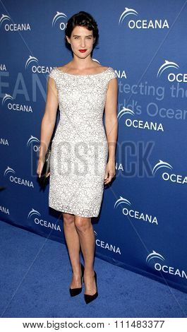 Cobie Smulders at the 2013 Oceana's Partners Awards Gala held at theBeverly Wilshire Hotel in Beverly Hills on October 30, 2013 in Los Angeles, California.