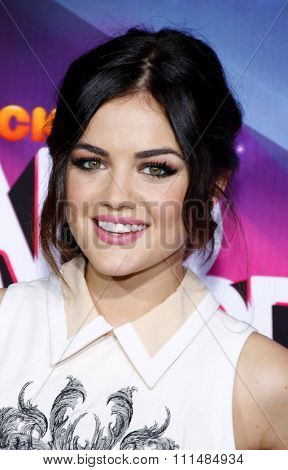 Lucy Hale at the  2012 Halo Awards held at the Hollywood Palladium in Hollywood on November 17, 2012.