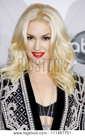 Gwen Stefani at the 40th Anniversary American Music Awards held at the Nokia Theatre L.A. Live in Los Angeles, United States, 181112.