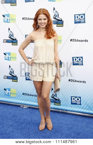 Anna Trebunskaya at the 2012 Do Something Awards held at the Barker Hangar in Santa Monica on August 19, 2012.