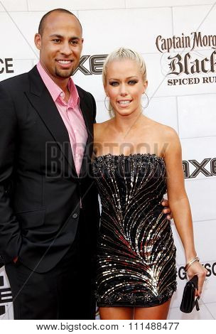 Kendra Wilkinson and Hank Baskett at the 2012 Spike TV's Guys Choice Awards held at the Sony Studios in Culver City on June 2, 2012.