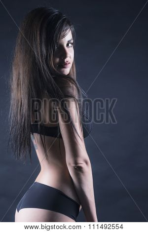 Sexy Woman In Ligerie