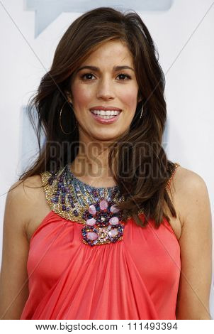 Ana Ortiz at the 2009 Bravo's A-List Awards held at the Orpheum Theatre in Los Angeles on April 5, 2009.