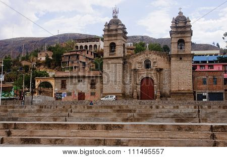 One Of The Many Churches In Ayacucho