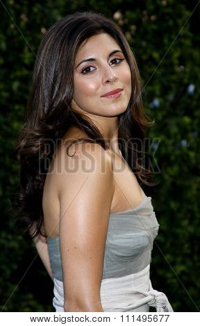 Jamie-Lynn Sigler at the 2007 Environmental Media Awards held at the Ebell Club in Los Angeles on October 24, 2007.