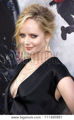Marley Shelton at the Los Angeles premiere of 'San Andreas' held at the TCL Chinese Theatre IMAX in Hollywood, USA on May 26, 2015.