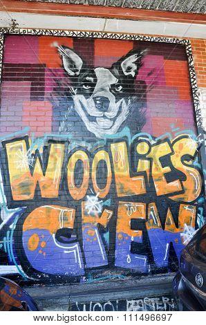 Woolies Crew Graffiti: Fremantle, Western Australia