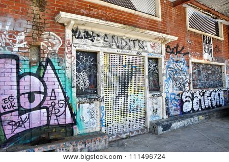 Graffiti Perspectives: Fremantle, Western Australia