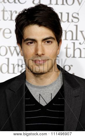 Brandon Routh at the Los Angeles premiere of 'Zack And Miri Make A Porno' held at the Grauman's Chinese Theater in Hollywood, California, USA on October 20, 2008.