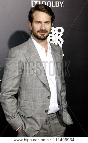 Mark Boal at the Los Angeles premiere of 'Zero Dark Thirty' held at the Dolby Theatre in Hollywood, California, USA on December 10, 2012.