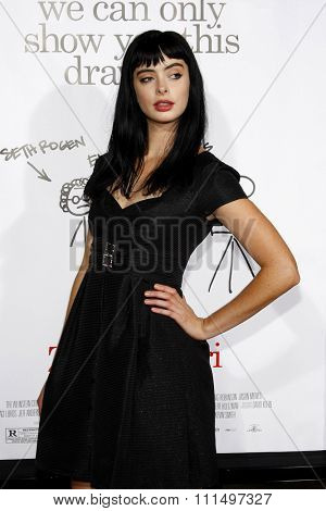 Krysten Ritter at the Los Angeles premiere of 'Zack And Miri Make A Porno' held at the Grauman's Chinese Theater in Hollywood on October 20, 2008.