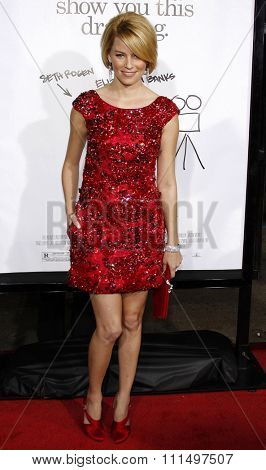 Elizabeth Banks at the Los Angeles premiere of 'Zack And Miri Make A Porno' held at the Grauman's Chinese Theater in Hollywood on October 20, 2008.