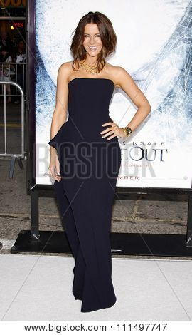 Kate Beckinsale at the Los Angeles premiere of 'Whiteout