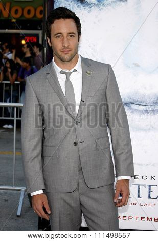 Alex O'Loughlin at the Los Angeles premiere of 'Whiteout
