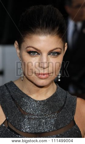Fergie at the Los Angeles premiere of 'X-Men Origins: Wolverine' held at the Grauman's Chinese Theatre in Hollywood on April 28, 2009.