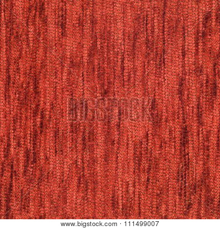 Red Seamless Texture Of Fabric