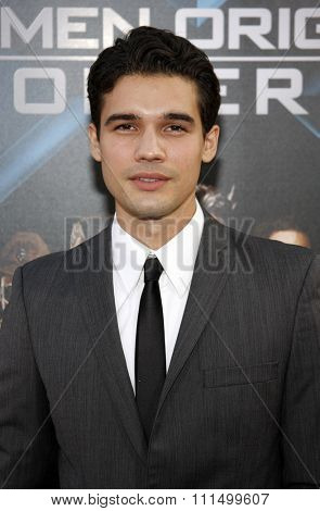 Steven Strait at the Los Angeles premiere of 'X-Men Origins: Wolverine' held at the Grauman's Chinese Theatre in Hollywood on April 28, 2009.