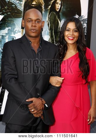 Bokeem Woodbine at the Los Angeles premiere of 'Total Recall' held at the Grauman's Chinese Theatre in Hollywood on August 1, 2012.