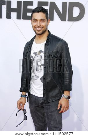 Wilmer Valderrama at the Los Angeles premiere of