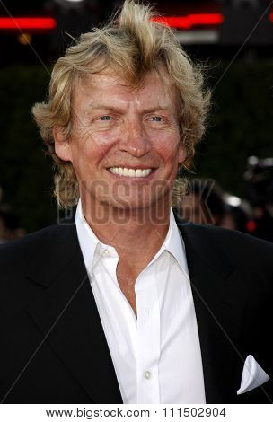 Nigel Lythgoe at the Los Angeles premiere of 'Tropic Thunder' held at the Mann Village Theater in Westwood on August 11, 2008.