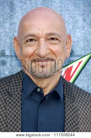 Sir Ben Kingsley at the 2015 Spike TV's Guys Choice Awards held at the Sony Pictures Studios in Culver City, USA on June 6, 2015.