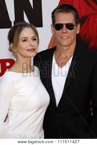 Kyra Sedgwick and Kevin Bacon attend the World Premiere of