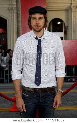 Dax Shepard at the Los Angeles premiere of 'The Hangover Part II' held at the Grauman's Chinese Theatre in Hollywood on May 19, 2011.