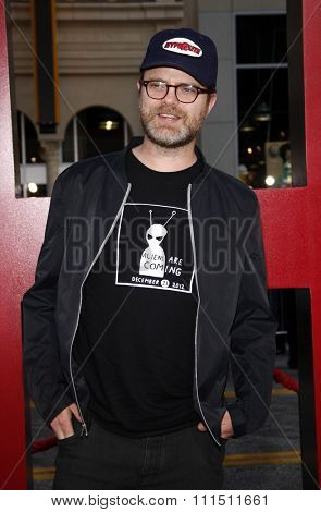 Rainn Wilson at the Los Angeles premiere of 'The Hangover Part II' held at the Grauman's Chinese Theatre in Hollywood on May 19, 2011.