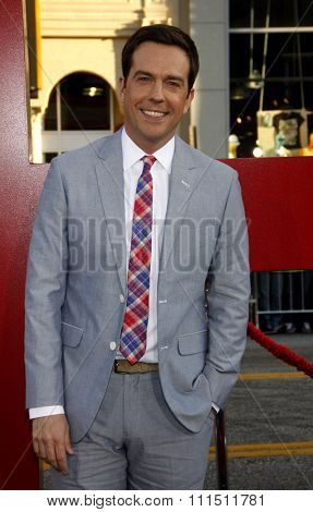 Ed Helms at the Los Angeles premiere of 'The Hangover Part II' held at the Grauman's Chinese Theatre in Hollywood on May 19, 2011.