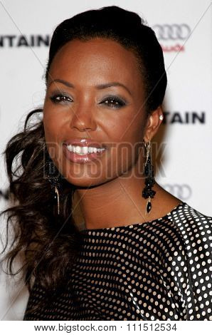 Aisha Tyler at the Los Angeles premiere of 'The Fountain' held at the Grauman's Chinese Theatre in Hollywood on November 11, 2006.