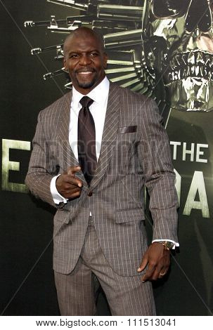 Terry Crews at the Los Angeles premiere of 'The Expendables 2' held at the Grauman's Chinese Theatre in Hollywood on August 15, 2012.