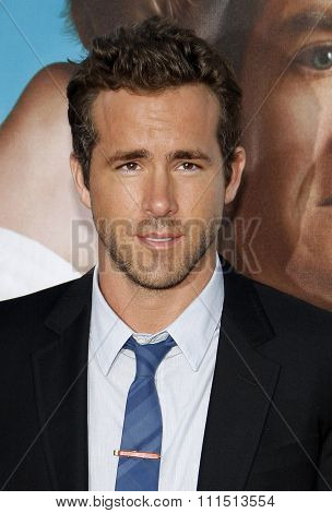 Ryan Reynolds at the Los Angeles premiere of 'The Change-Up' held at the Regency Village Theatre in Westwood on August 1, 2011.